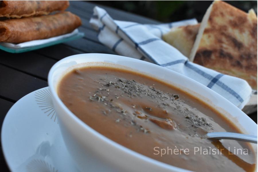 Soupe de légumes(hrira)